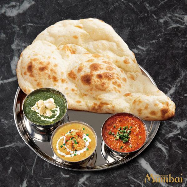インドカレー&ナンムンバイ トリプルカレーセット
