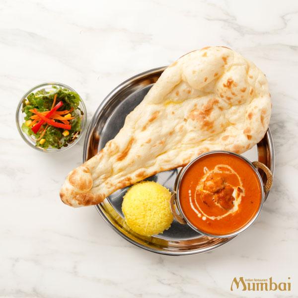 インドカレー&ナンムンバイ カレー&ナンセット
