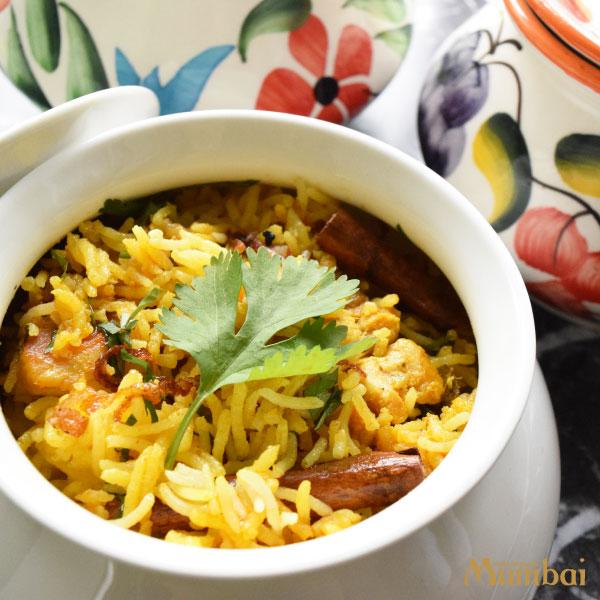 インド料理ムンバイ チキンビリヤニ