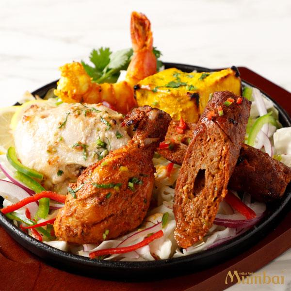 インド料理ムンバイ タンドリーグリル盛り合わせ