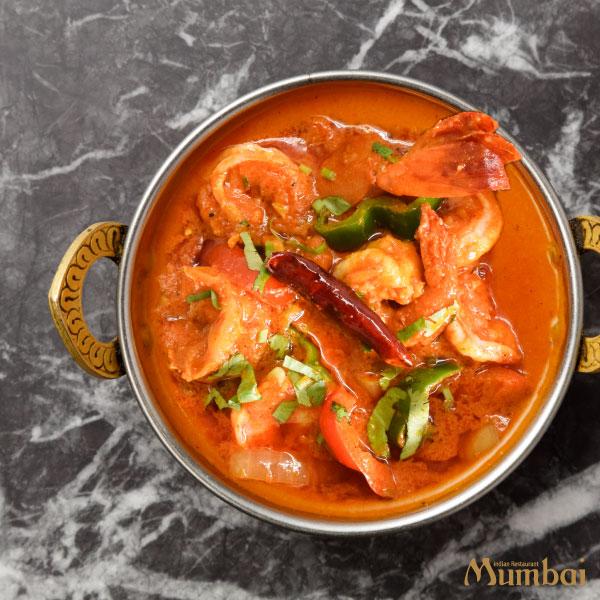 インド料理ムンバイ プロンマサラカレー
