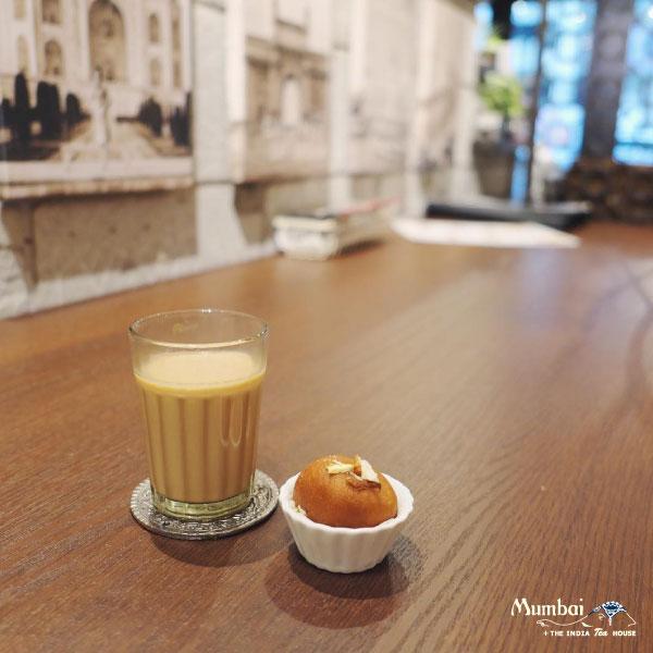 Mumbai+The India Tea House ミタイとマサラチャイ