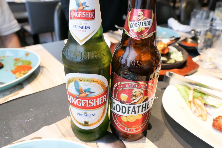インドビール キングフィッシャー、ゴッドファーザー
