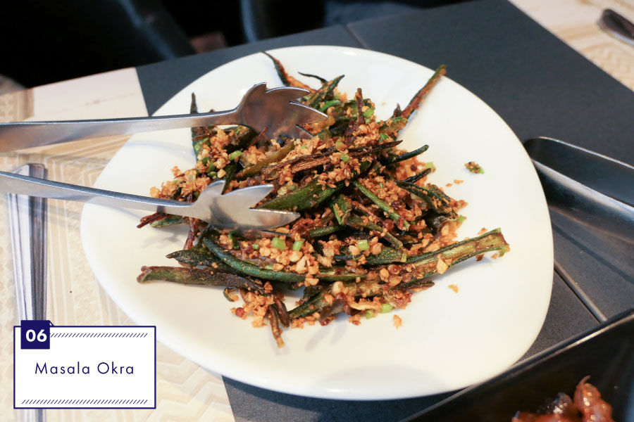 インド料理ムンバイ マサラオクラ