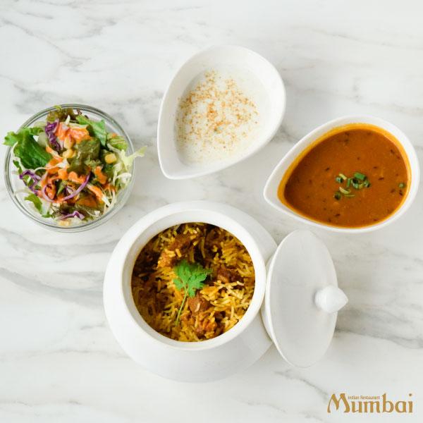 インド料理ムンバイ ランチラムビリヤニセット