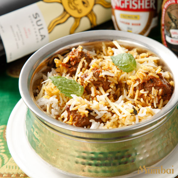 インド料理ムンバイ マトンビリヤニ