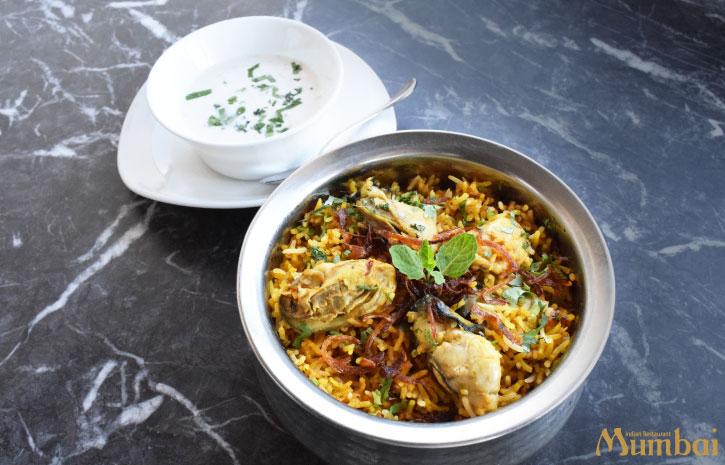 インド料理ムンバイ 牡蠣ビリヤニ