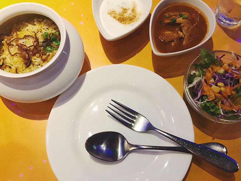 インド料理ムンバイ ビリヤニランチセット
