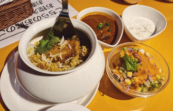 インド料理ムンバイ ランチビリヤニセット