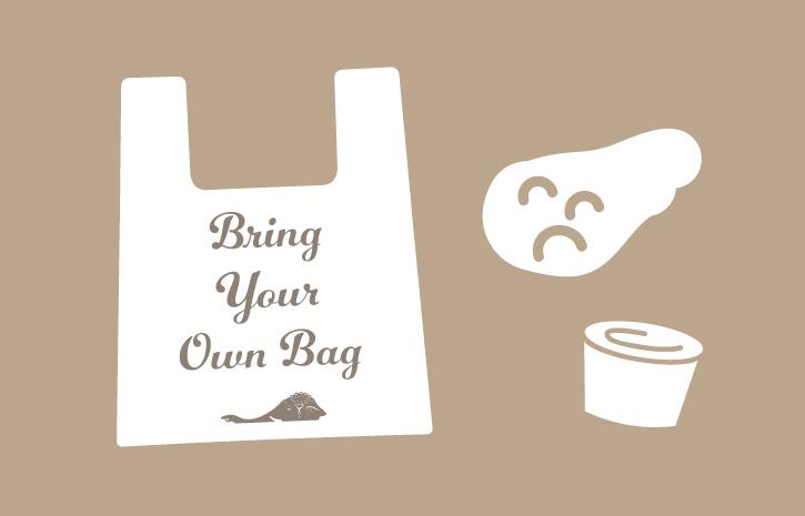 ムンバイ 買い物袋有料化のお知らせ
