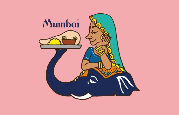 インド料理ムンバイLINEスタンプ