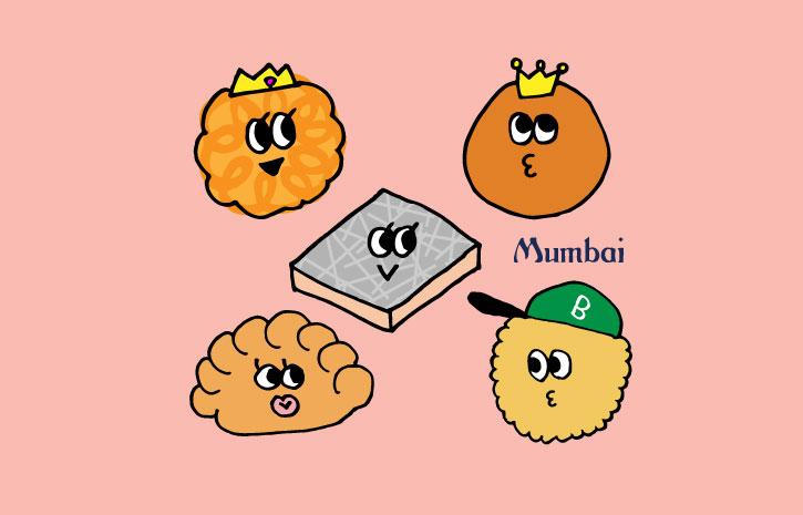 インド料理ムンバイ LINEスタンプ ミタイファミリー