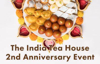 Mumbai + The India Tea House 2周年イベント