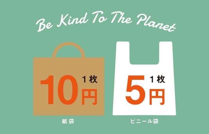 買い物袋有料化