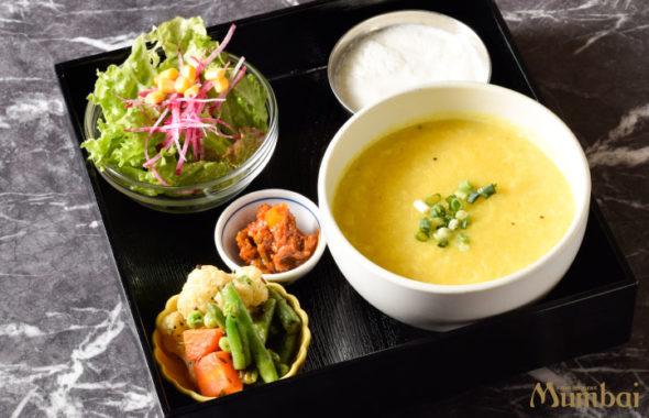キチュリ khichidi インドのお粥 インド料理ムンバイ 七草粥 銀座店 ランチ ディナー キチュリセット
