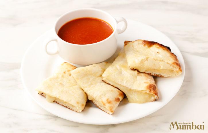 チーズナン&トマトスープ ムンバイダイニング アトレ恵比寿 インド料理 インドカレー ランチ ディナー