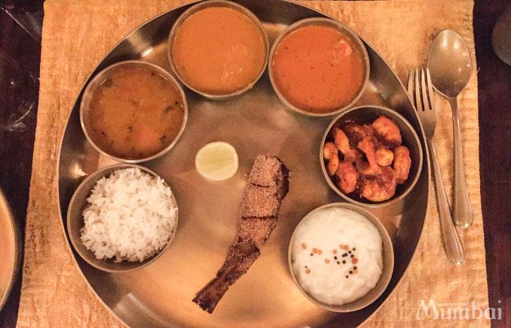 インド料理 ターリー インド旅行 ムンバイ India Mumbai