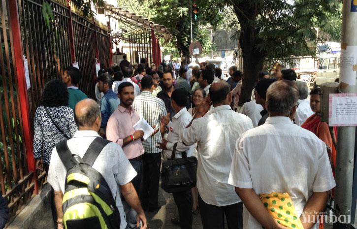 高額紙幣の切り替え インド旅行 写真 ムンバイ India Mumbai