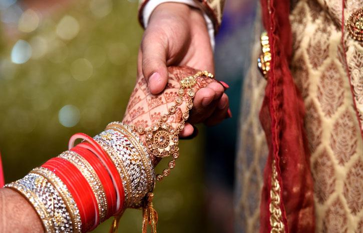 インドの結婚式 Indian Wedding メヘンディ