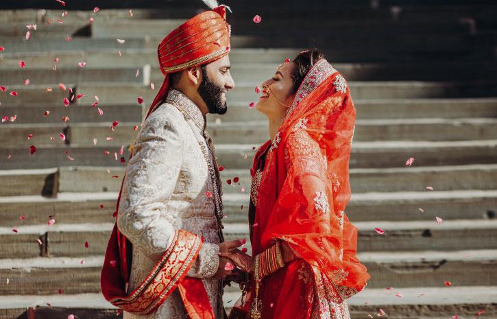 インドの結婚式 Indian Wedding サリー