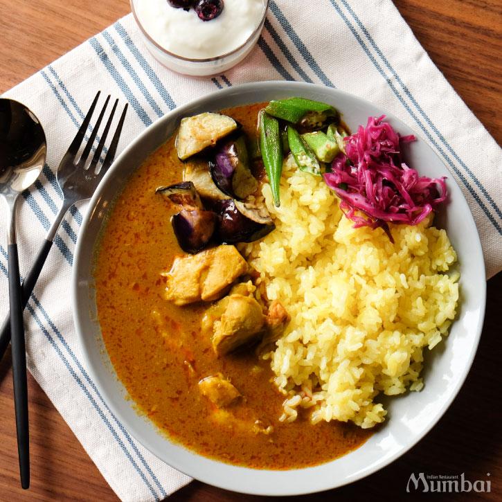 冷凍カレー スパイシーチキン Spicy Chicken Curry インドカレー スパイスカレー グルテンフリー 通販 お取り寄せ インド料理ムンバイ クールムンバイ Mumbai