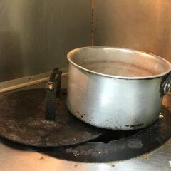 タンドール窯 ジュガール 豆カレー